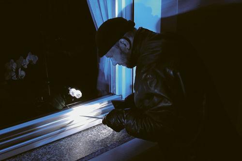 Ladrón en la ventana